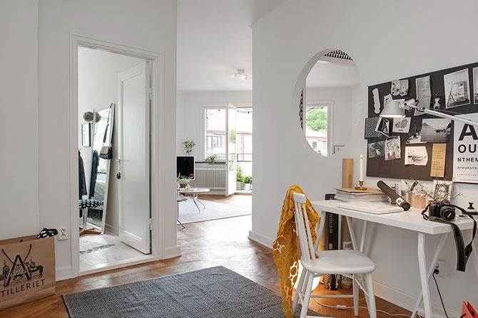 Apartament renovat cu personalitate la Gothenburg, in Suedia - Poza 1