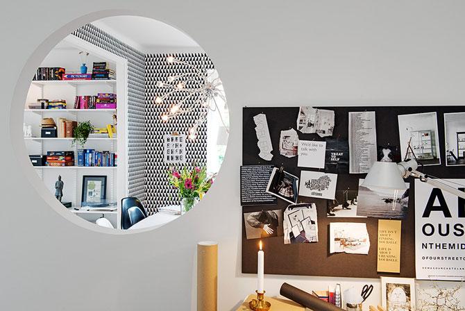 Apartament renovat cu personalitate la Gothenburg, in Suedia - Poza 2