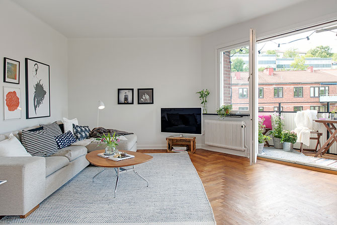 Apartament renovat cu personalitate la Gothenburg, in Suedia - Poza 4