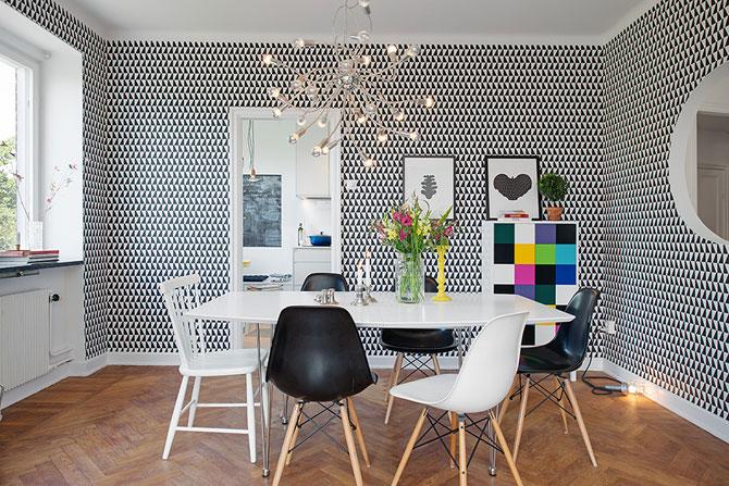 Apartament renovat cu personalitate la Gothenburg, in Suedia - Poza 7
