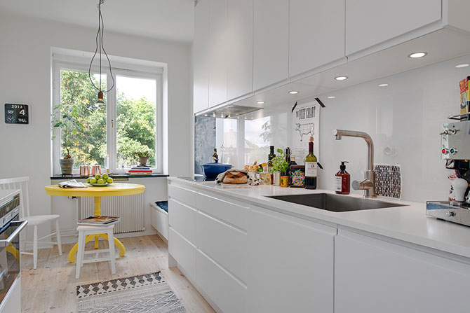 Apartament renovat cu personalitate la Gothenburg, in Suedia - Poza 10