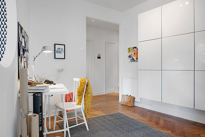 Apartament renovat cu personalitate la Gothenburg, in Suedia - Poza 12