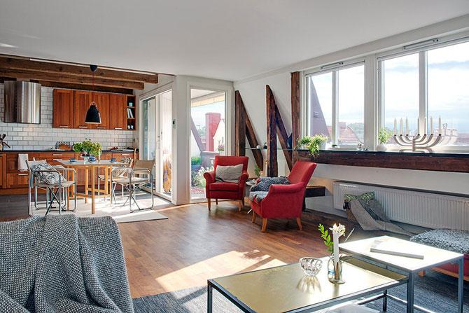 Apartament rustic la Gothenburg, Suedia - Poza 2