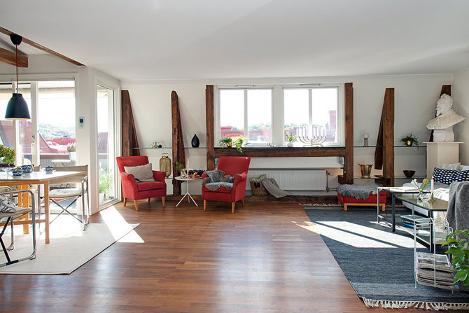 Apartament rustic la Gothenburg, Suedia - Poza 6