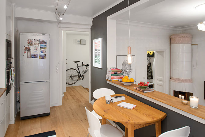 Apartament originalitate si colorat de 60 mp la Gothenburg