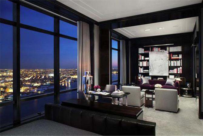 La etajul 77 cu Trump, Marilyn si Warhol