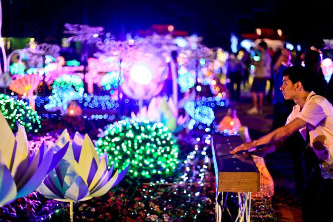 Lotusi cu doua milioane de petale din Thailanda - Poza 9