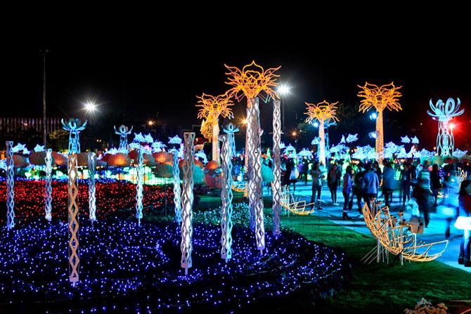 Lotusi cu doua milioane de petale din Thailanda - Poza 12