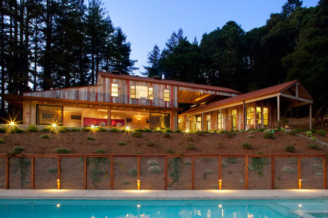 Sic, Rustic, Modern – Casa Aptos, California - Poza 1