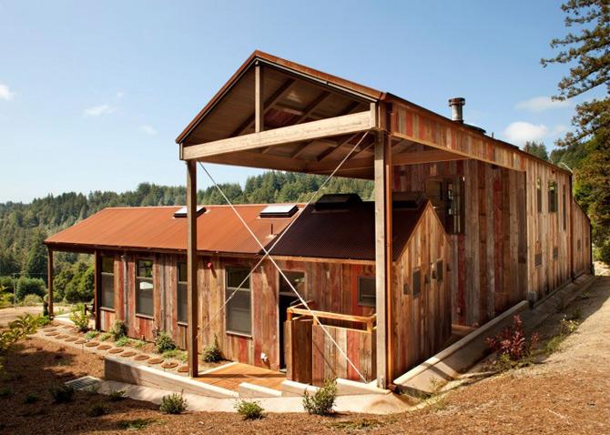 Sic, Rustic, Modern – Casa Aptos, California - Poza 2
