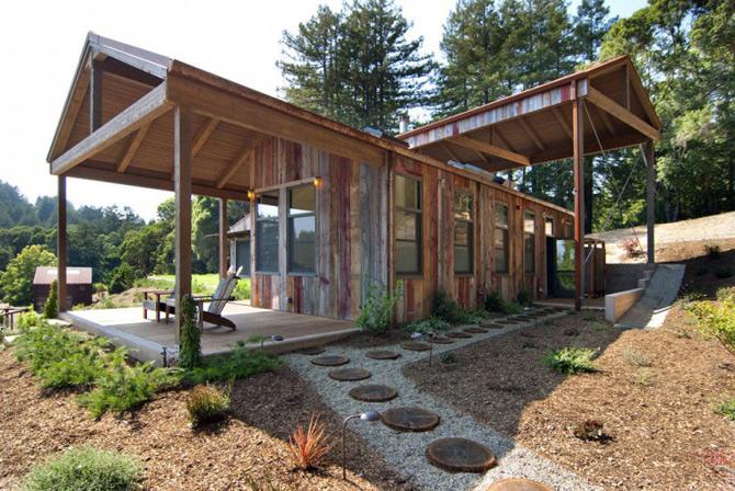 Sic, Rustic, Modern – Casa Aptos, California - Poza 4
