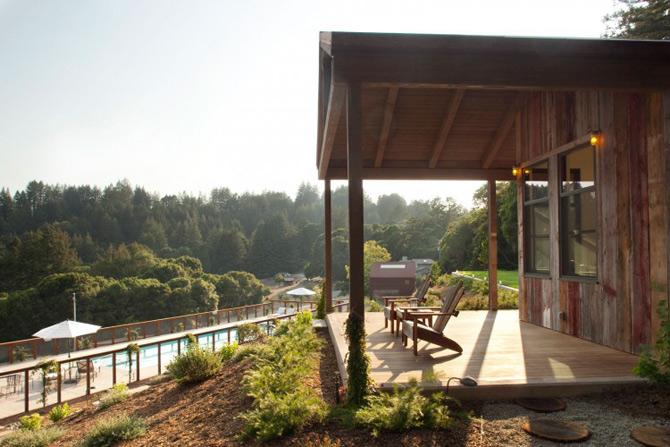 Sic, Rustic, Modern – Casa Aptos, California - Poza 5