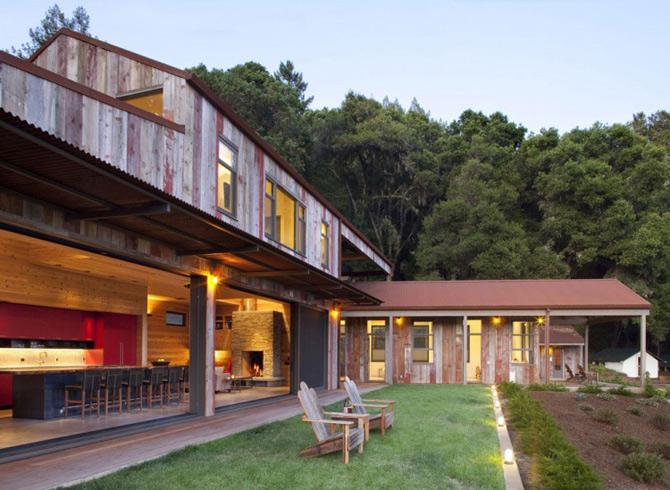 Sic, Rustic, Modern – Casa Aptos, California - Poza 6