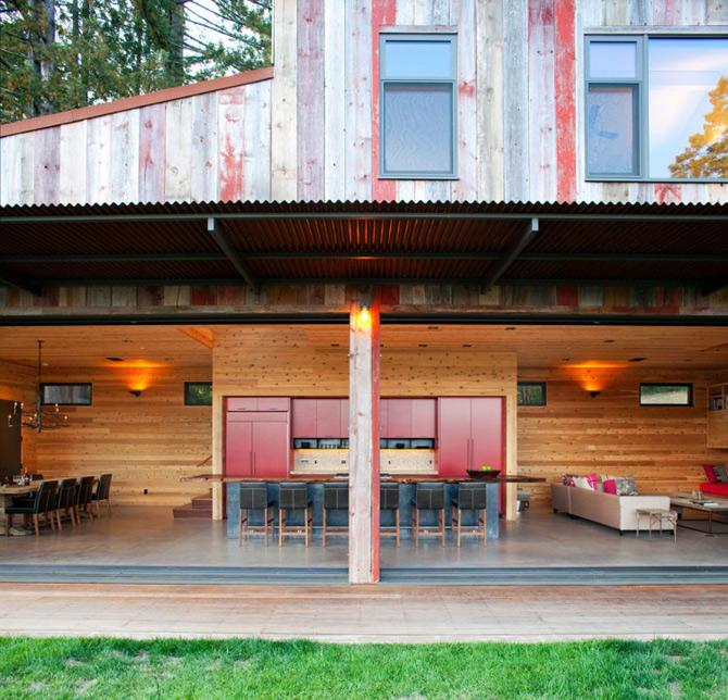 Sic, Rustic, Modern – Casa Aptos, California - Poza 7