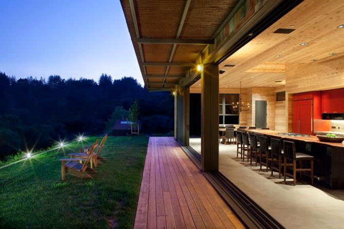 Sic, Rustic, Modern – Casa Aptos, California - Poza 8