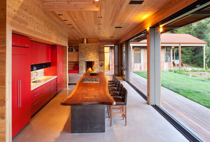 Sic, Rustic, Modern – Casa Aptos, California - Poza 9