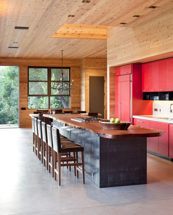 Sic, Rustic, Modern – Casa Aptos, California - Poza 10