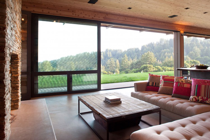 Sic, Rustic, Modern – Casa Aptos, California - Poza 11