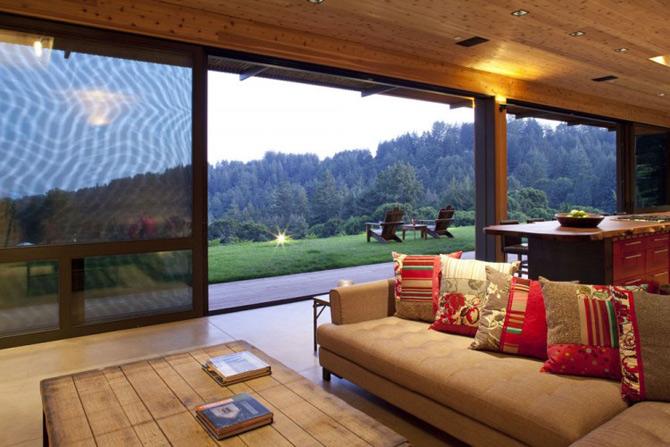 Sic, Rustic, Modern – Casa Aptos, California - Poza 12