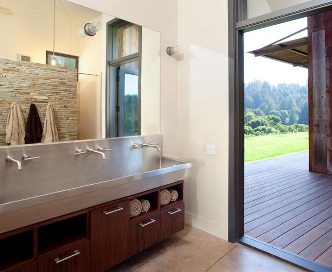 Sic, Rustic, Modern – Casa Aptos, California - Poza 15