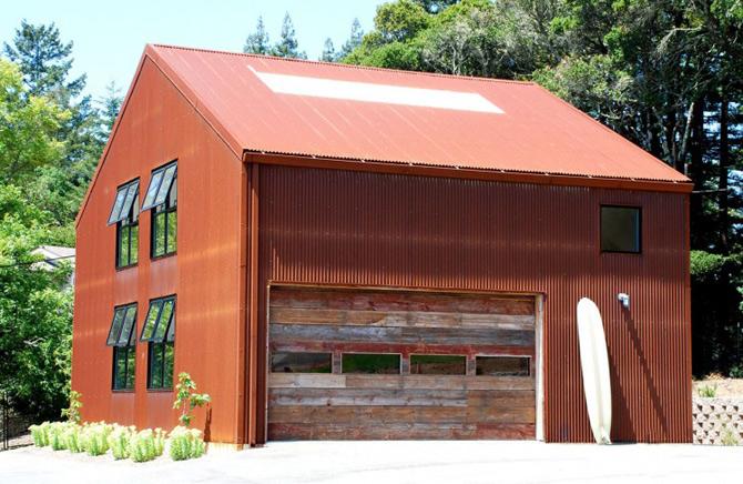 Sic, Rustic, Modern – Casa Aptos, California - Poza 16