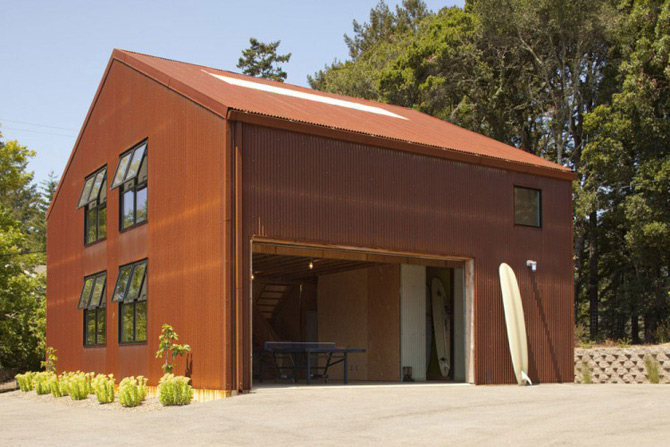 Sic, Rustic, Modern – Casa Aptos, California - Poza 17