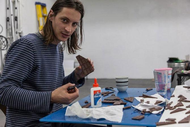 Arhitectura din turta dulce si ciocolata - Poza 7