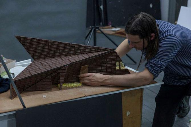 Arhitectura din turta dulce si ciocolata - Poza 8