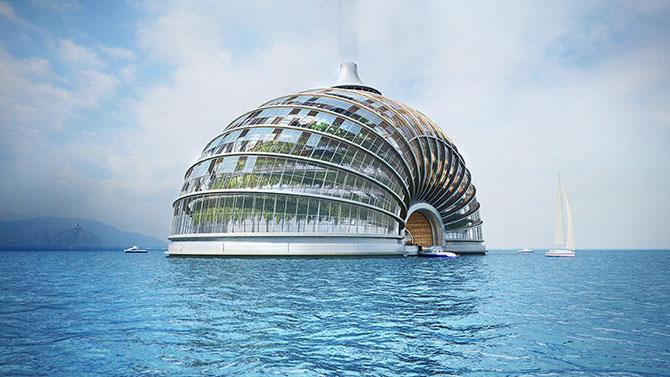 Hotelul plutitor Ark Hotel, de Remistudio - Poza 1