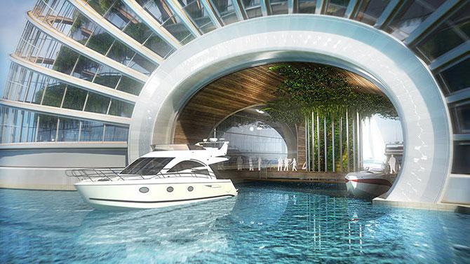 Hotelul plutitor Ark Hotel, de Remistudio - Poza 7