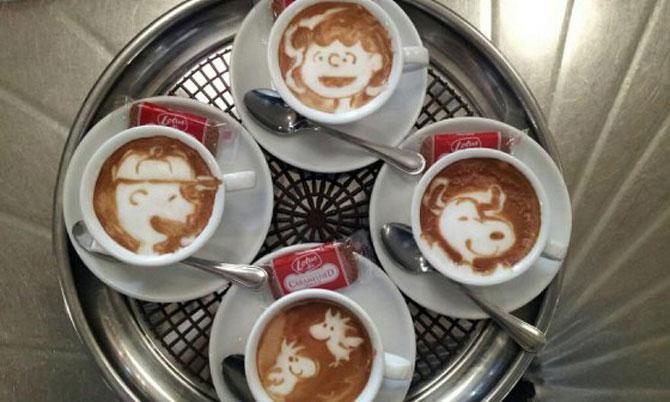 Arta 3D in cafe latte, de Kazuki Yamamoto - Poza 2