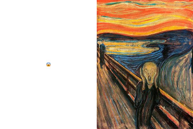 Picturi clasice cu emoticoane de pe net - Poza 2