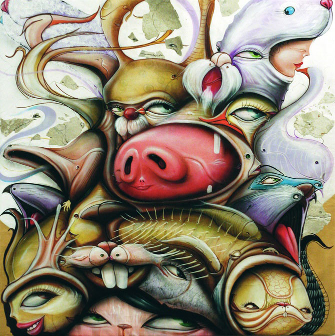Graffiti in Tara Minunilor, de Andre Muniz Gonzaga