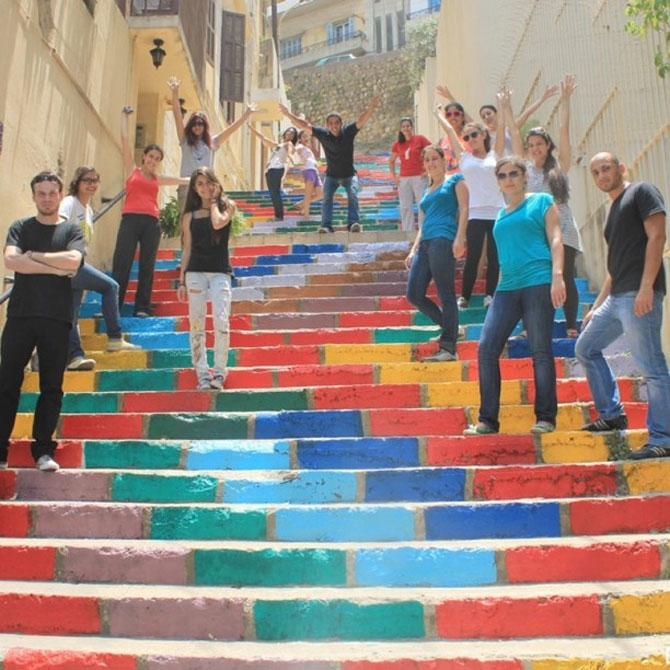 Scarile colorate din Beirut - Poza 5