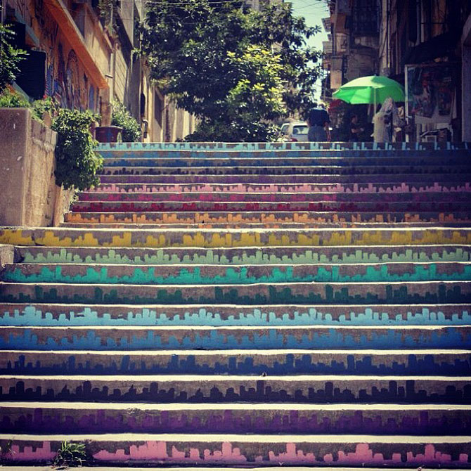 Scarile colorate din Beirut - Poza 8