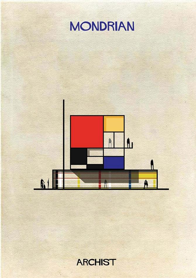 Schite in stilul celor mai celebri artisti, de Federico Babini - Poza 1