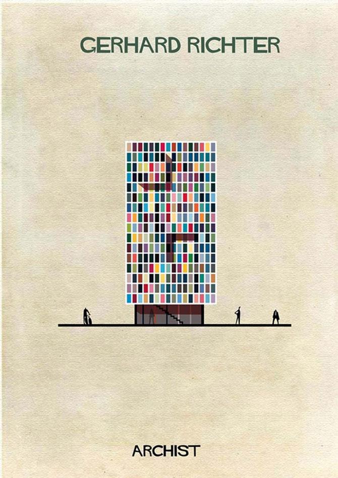 Schite in stilul celor mai celebri artisti, de Federico Babini - Poza 2