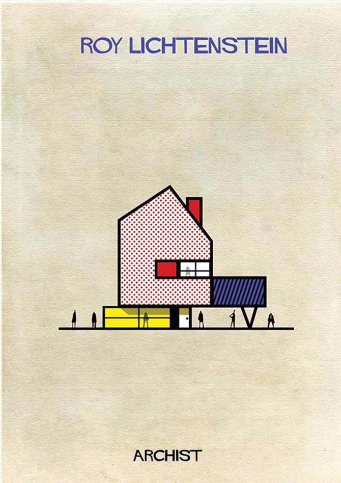 Schite in stilul celor mai celebri artisti, de Federico Babini - Poza 3