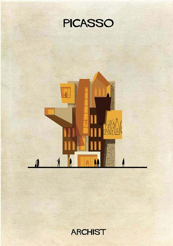 Schite in stilul celor mai celebri artisti, de Federico Babini - Poza 7