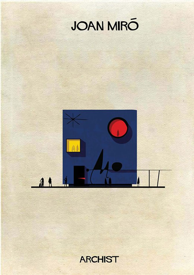 Schite in stilul celor mai celebri artisti, de Federico Babini - Poza 8