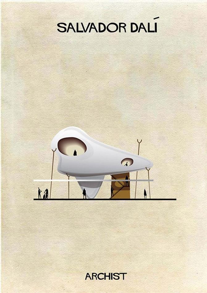 Schite in stilul celor mai celebri artisti, de Federico Babini - Poza 10