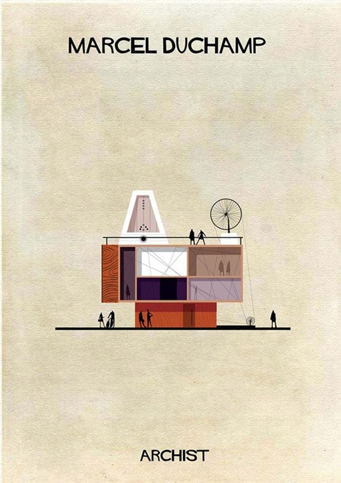 Schite in stilul celor mai celebri artisti, de Federico Babini - Poza 11