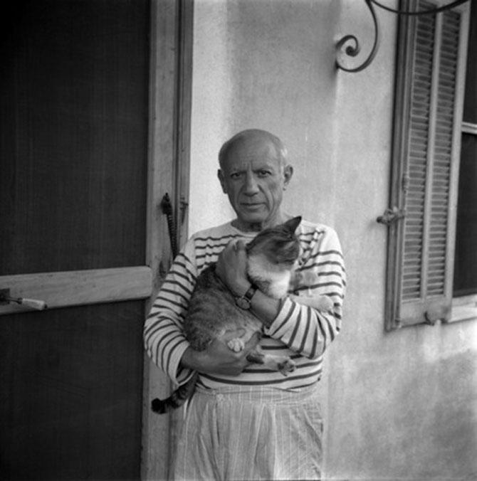10 artisti celebri cu pisicile lor - Poza 3