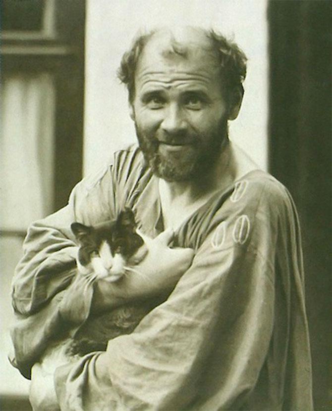 10 artisti celebri cu pisicile lor - Poza 4