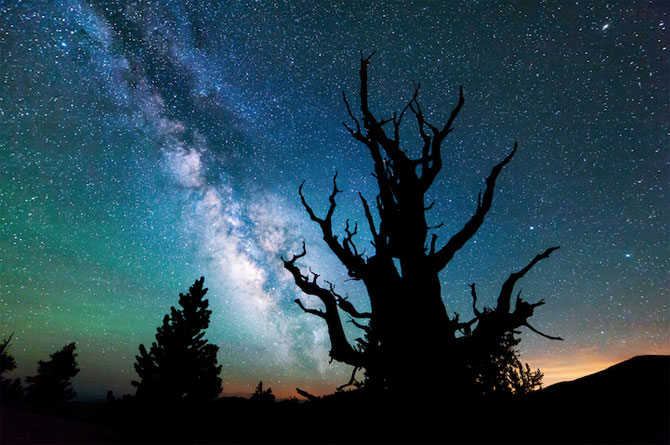 Galaxii stralucitoare, fotografiate de Michael Shainblum - Poza 1