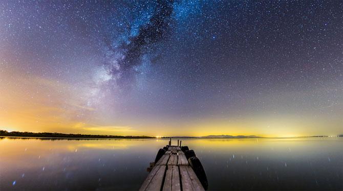 Galaxii stralucitoare, fotografiate de Michael Shainblum - Poza 5