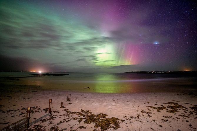 Aurora boreala in Scotia si culorile ei incredibile - Poza 4
