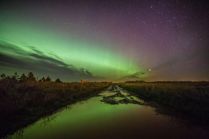 Aurora boreala in Scotia si culorile ei incredibile - Poza 5