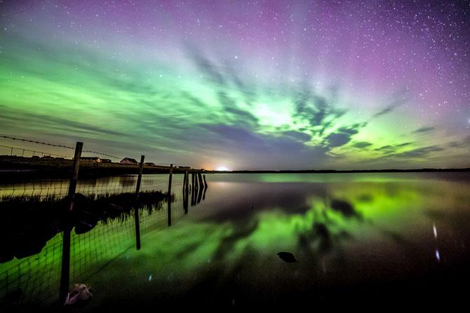Aurora boreala in Scotia si culorile ei incredibile - Poza 6
