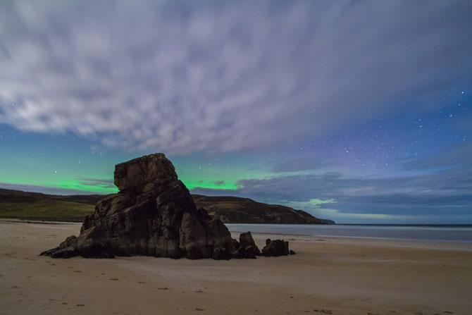 Aurora boreala in Scotia si culorile ei incredibile - Poza 8